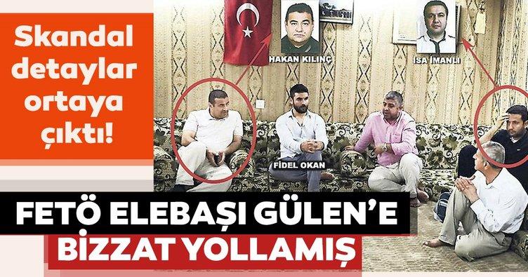 FETÖ elebaşı Gülen'e bizzat yollamış!