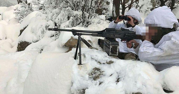 Doğu Karadeniz Yaylaları'nda -10 derecede terör operasyonu