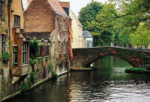Çikolata ve dantel: Brugge