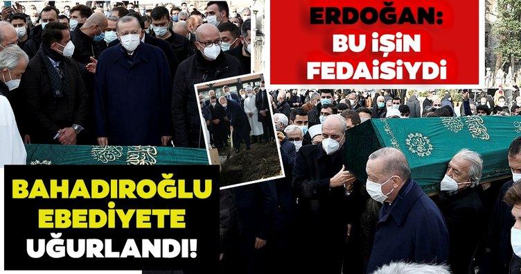 Son dakika: Yavuz Bahadıroğlu'na son görev! Erdoğan: Bu işin fedaisiydi...