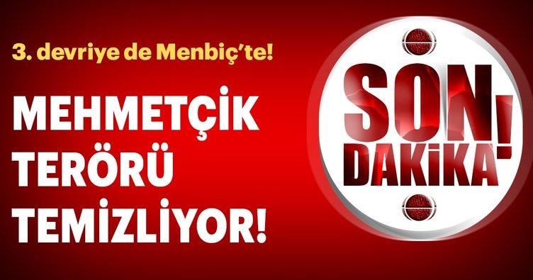Mehmetçik Münbiç'te! Türk ordusu üçüncü devriye görevini gerçekleştirdi