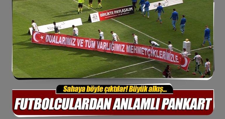 Atiker Konyasporlu futbolculardan askerlerimize destek