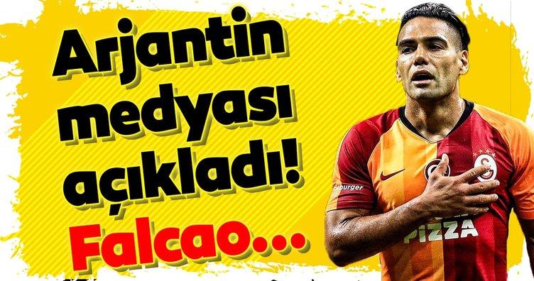 Arjantin medyası açıkladı! Galatasaraylı Falcao...