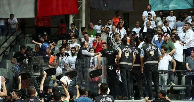 Beşiktaş'a ağır ceza