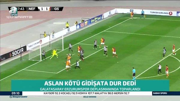 Galatasaray 3 hafta sonra kazandı!