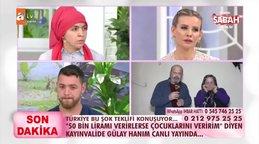 Esra Erol'da Türkiye'nin konuştuğu tepki çeken çirkin teklif! '50 Bin TL verirsen...' | Video