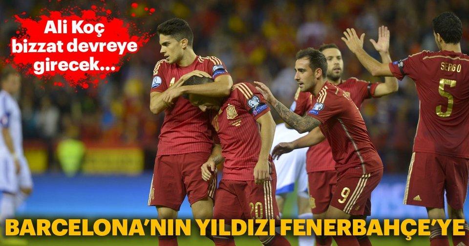 Ali Koç bizzat devreye girecek! Barcelona'nın yıldızı Fenerbahçe'ye...