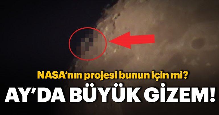 Ay'daki büyük gizem! Uzaylılar olabilir mi?