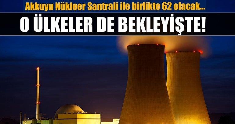 Akkuyu Nükleer Güç Santrali dahil yapım aşamasındaki santraller  (Dünyada hangi ülkede kaç tane nükleer santral var?)