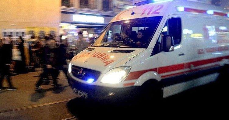 Samsun'da yolcu otobüsü tıra çarptı: 11 yaralı