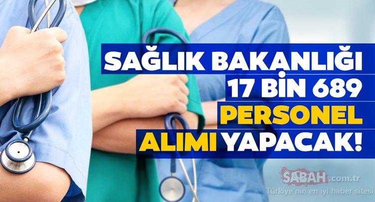 Sağlık Bakanlığı 17 bin 689 personel alımı yapıyor! Sağlık Bakanlığı personel alımı ne zaman, branş dağılımı nasıl olacak?