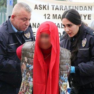 Adana'da 'bomba taşıyan kadın' alarmı!
