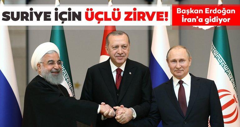Tarih belli oldu! Başkan Erdoğan 7 Eylülde İrana gidiyor