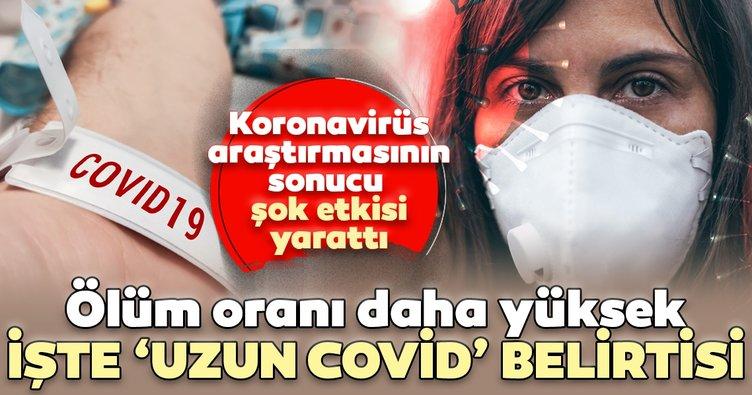 Son dakika haberi: Koronavirüs bu kişilerde 'Uzun covid-19' olarak ilerliyor...