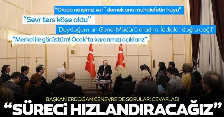 Son dakika: Başkan Erdoğan'dan Libya ile mutabakat açıklaması!