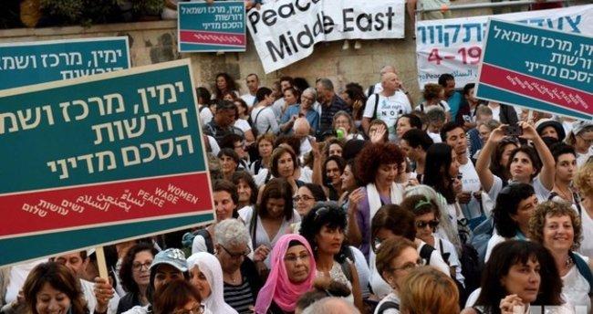 İsrailli kadınlardan, Filistinlilerle barış gösterisi