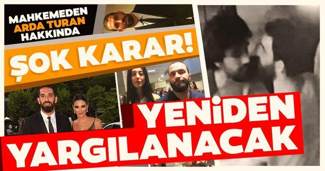 Berkay-Arda Turan davasında flaş gelişme! İstinaf mahkemesi beraat kararını bozdu Arda Turan yeniden yargılanacak