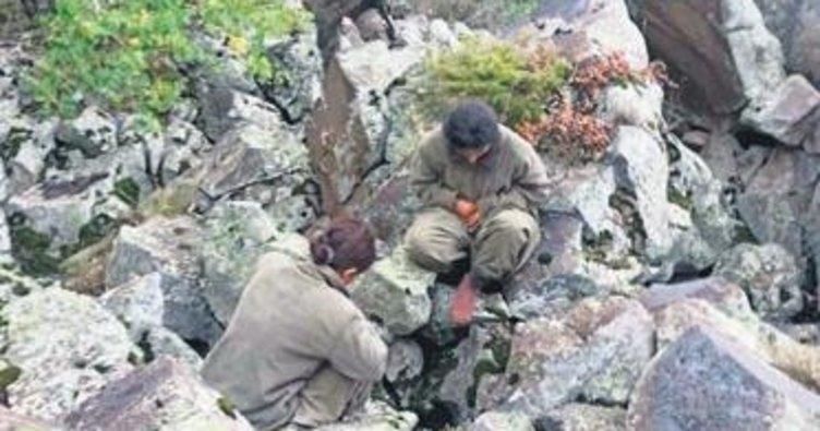 PKK'lı 2 kadın terörist ikna timlerine teslim oldu