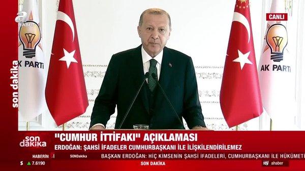 Cumhurbaşkanı Erdoğan'dan AK PartiOlağan 7. İl Kongreleri konuşmasında önemli açıklamalar | Video