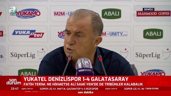 Son dakika: Fatih Terim'den şampiyonluk sözleri! 'Galatasaray vazgeçmedi biz vazgeçmedik...'