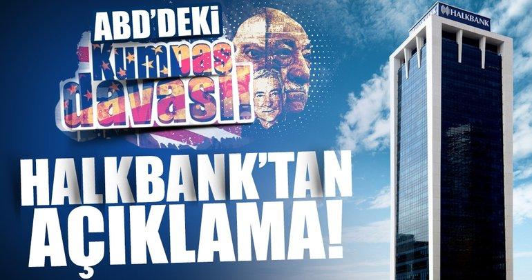 Son dakika haberi: Halkbank'tan flaş ABD açıklaması