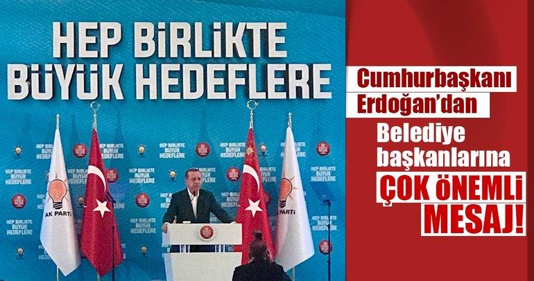 Cumhurbaşkanı Erdoğan'dan istişare kampında önemli mesajlar!