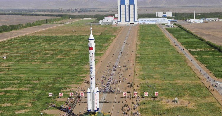 Çin'in uzay istasyonu Türkiye'ye düşebilir