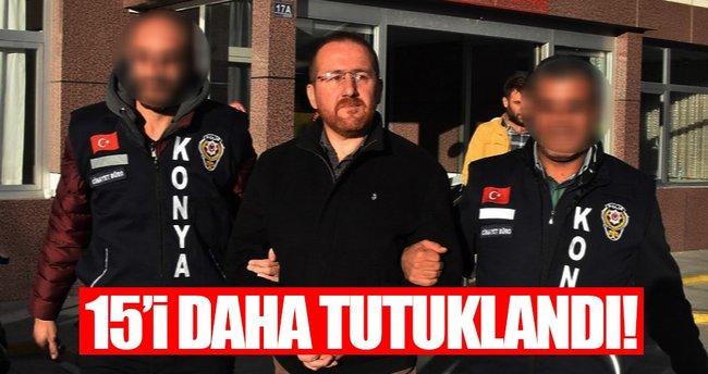 Konya'da FETÖ'den 14 sağlıkçı tutuklandı