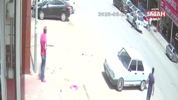Aracına verilen raporu beğenmeyince ekspertizi öldürdü | Video