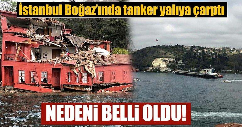 Boğaz'da tankerin çarptığı Hekimbaşı Salih Efendi Yalısı'ndan ilk görüntüler