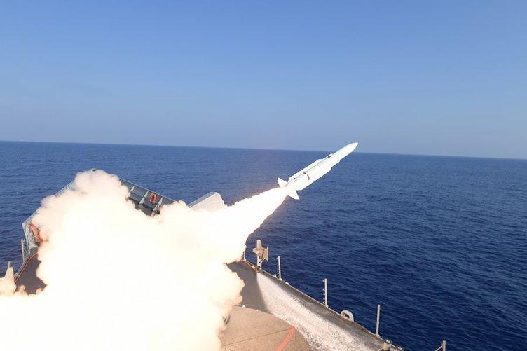 Güdümlü füzelerle atış yapıldı!