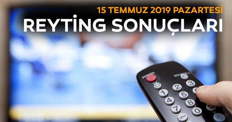 Reyting sonuçları açıklandı! 15 Temmuz Demokrasi ve Milli Birlik Günü, Canevim, Dağ 2 kim birinci oldu?
