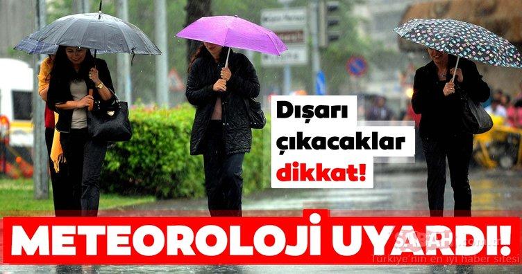 Meteoroloji'den son dakika hava durumu ve sağanak yağış uyarısı! O illerde yaşayanlar dikkat! İşte detaylar