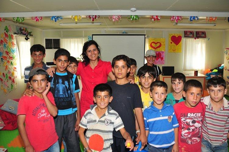 Nizip Kampı'ndan Türkiye'ye gurur veren görüntüler