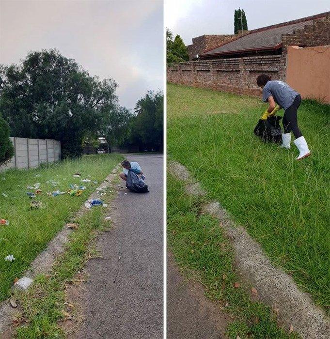 Çöplerden öncesi ve sonrası