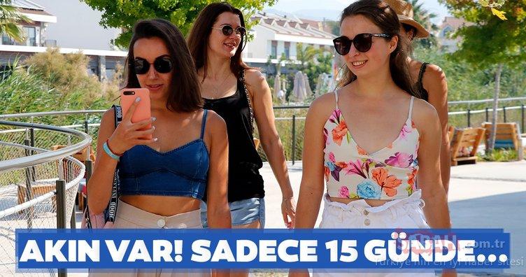 Son dakika: Antalya'ya Rus akını! 15 günde Eylül ayını geçti
