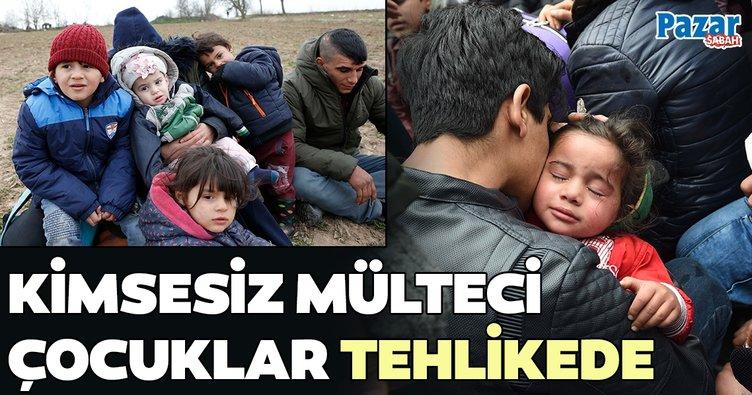 Kimsesiz mülteci çocuklar tehlikede