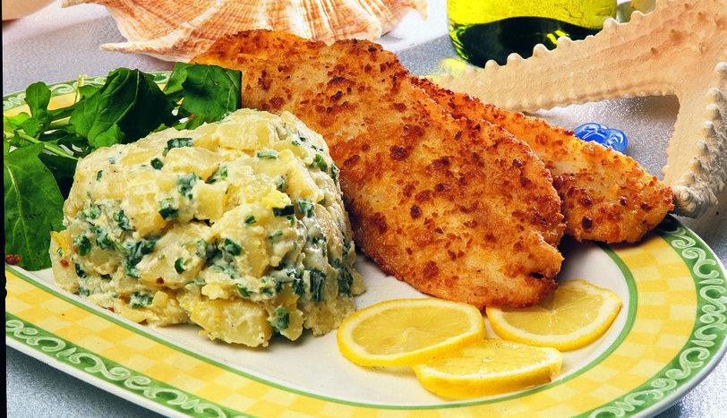 Patates Salatalı Mezgit