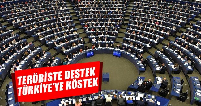 Teröriste destek Türkiye'ye köstek