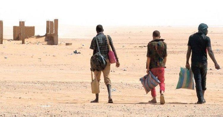 Nijer çölünde 439 göçmen kurtarıldı