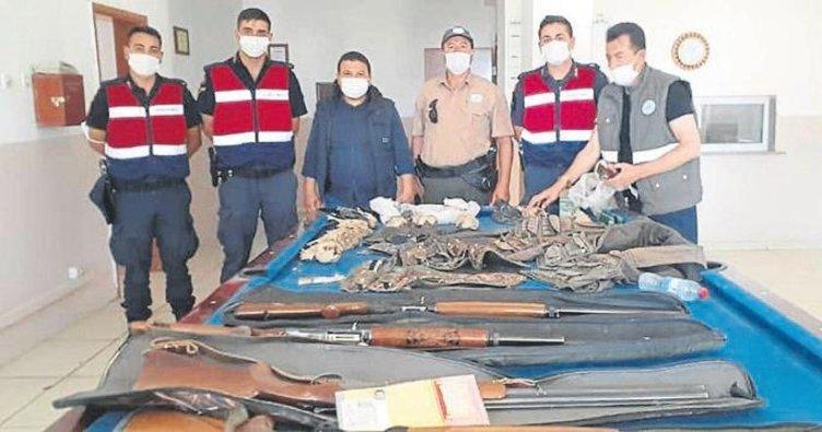 Kaçak avlanan avcılara ceza yağdı