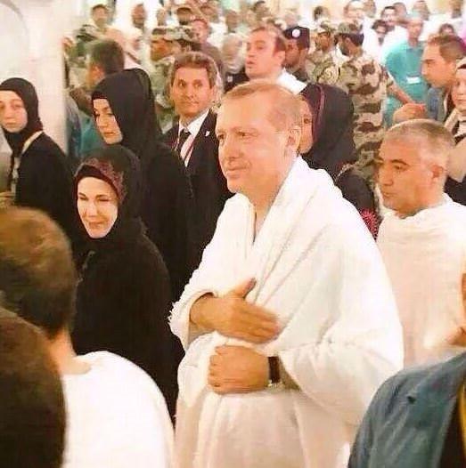 Erdoğan ihrama girdi