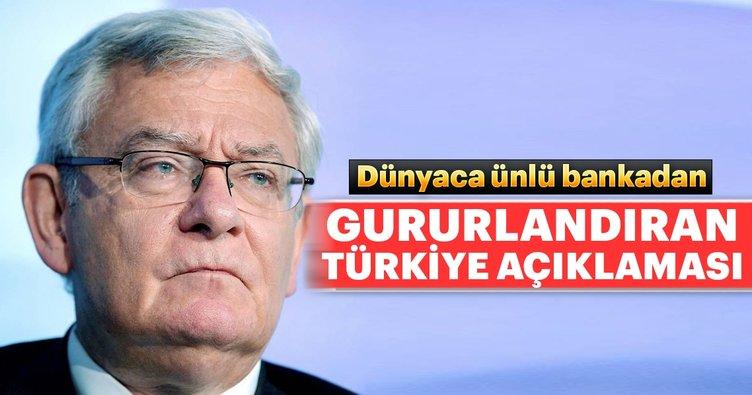 BNP Paribas'tan gururlandıran Türkiye açıklaması
