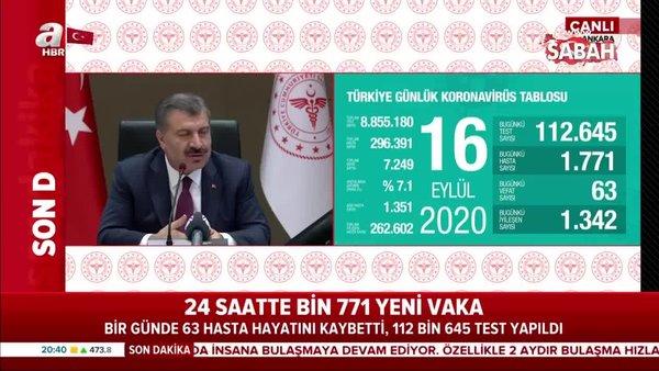 Sağlık Bakanı Fahrettin Koca Eylül ayındaki dalgalanma sırasında sokağa çıkma yasağı iddiaları için ne demişti?   Video