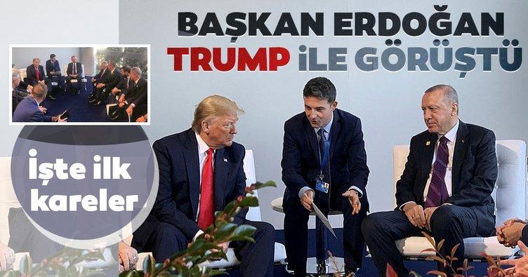 Başkan Erdoğan ile Trump arasında kritik görüşme!