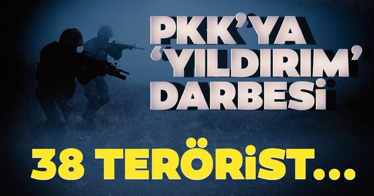 İçişleri Bakanlığı Sözcüsü Çataklı'dan son dakika açıklaması! 38 terörist etkisiz hale getirildi