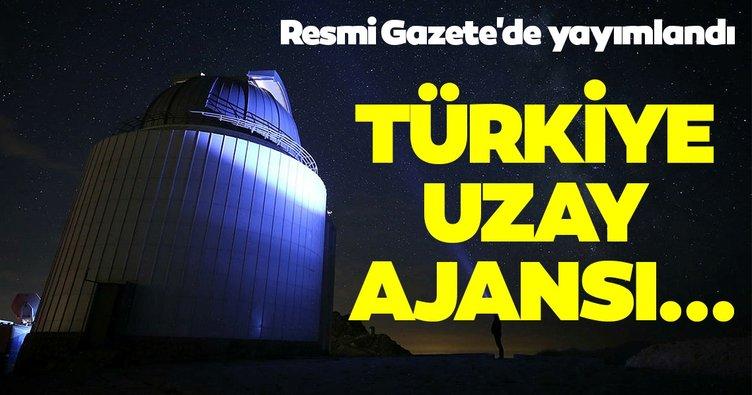 Türkiye Uzay Ajansının yıldız kadrosu belli oldu