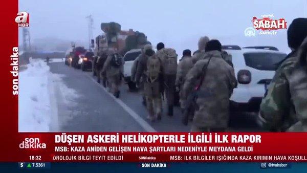 Son dakika: MSB'den Bitlis'teki askeri helikopter kazasına ilişkin açıklama | Video