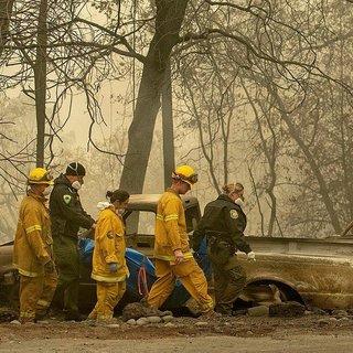 Yangında 130 kişi kayıp