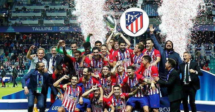 Avrupa'nın en süperi Atletico Madrid